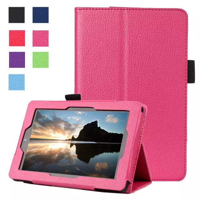 new concept 83878 d0d46 US $379.0 |For Amazon new Fire 7 2015 tablet cover cases for new kindle  fire 7 2015 7 inch case PU leather stand style-in Tablets & e-Books Case  from ...