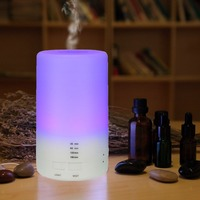 65ML Diffuser USB Air Aroma Humidifier Essential Oil Diffuser Aromatherapy Car Fragrance Ultrasonic Humidifier LED Night