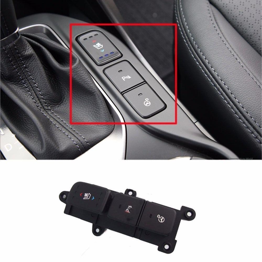 Indicateur interrupteur droit siège ventilation chauffage interrupteur avant radar bouton de commutation pour hyundai Santa Fe 2013-2015 93315 2W325