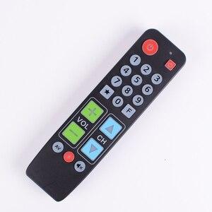 Image 2 - 21 زرًا يتعلمون جهاز التحكم عن بعد مع الضوء الخلفي ، وحدة تحكم زر كبيرة للتلفزيون VCR STB DVD DVB ، صندوق التلفزيون ، سهل لكبار السن.