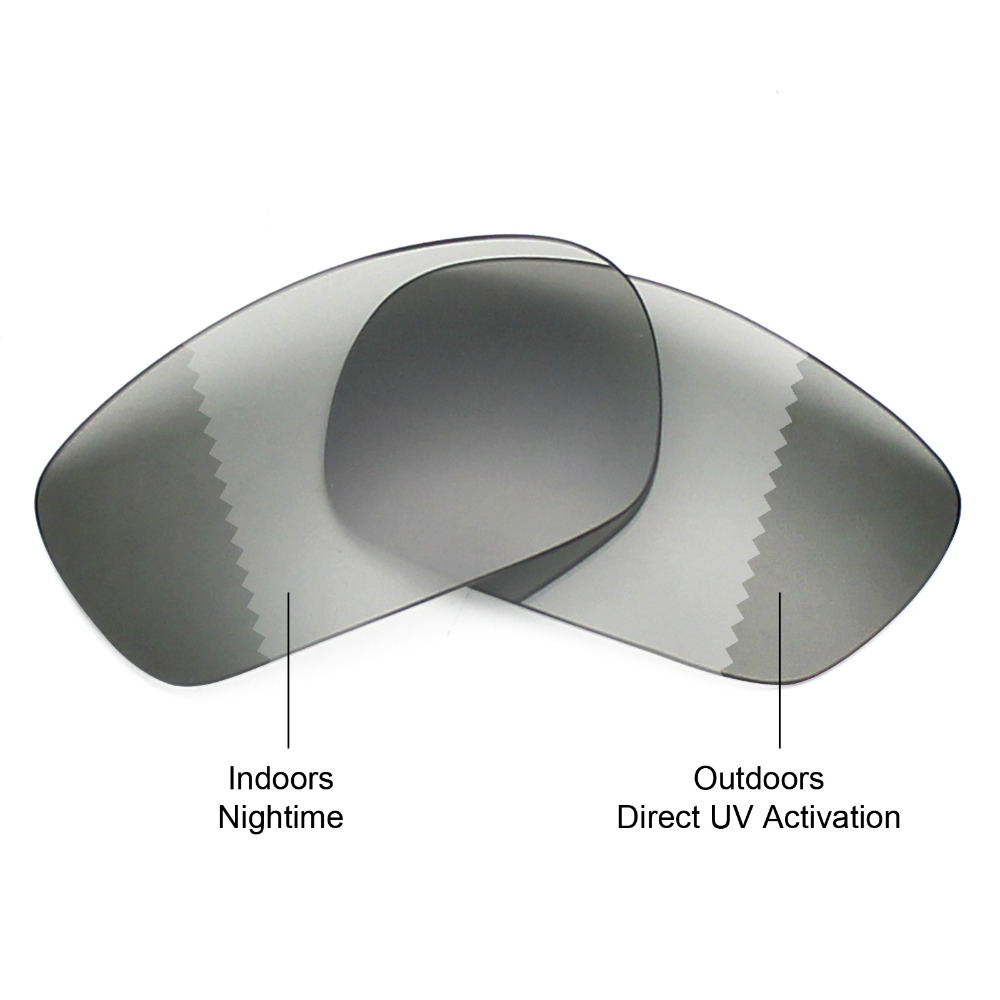 99db7bda6a9 Mryok POLARIZED Replacement Lenses for Oakley Jawbone Sunglasses Grey  Photochromic -in Accessories from Apparel Accessories on Aliexpress.com