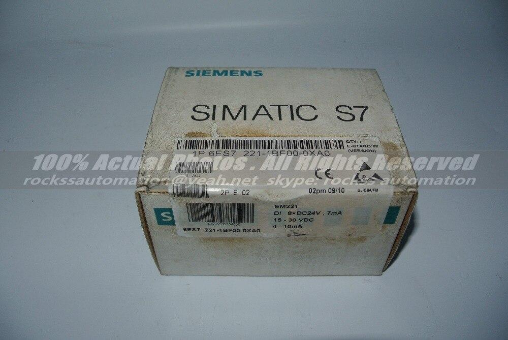 Brand New 6ES7 221-1BF00-0XA0 6ES7221-1BF00-0XA0 With Free DHL / EMS dhl ems 1pc used for original em277 6es7 277 0aa22 0xa0 6es7277 0aa22 0xa0 plc