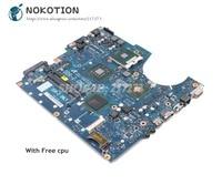 NOKOTION For Samsung NP R720 R720 Laptop Motherboard DDR2 free cpu BA92 05637A BA92 05637B BA41 01060A BA41 01061A BA41 01062A