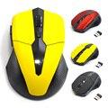 2.4G USB Vermelho 5 Botões Do Mouse Óptico Sem Fio para Computador Portátil Gaming Ratos