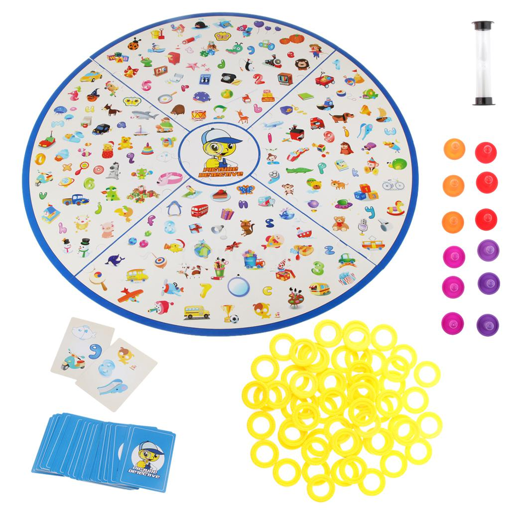 Board Games Toy : Aliexpress buy kids family play detective find