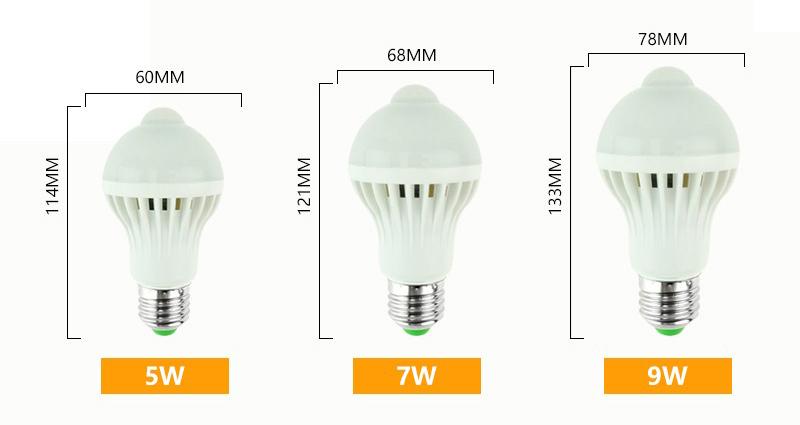 motion sensor bulb