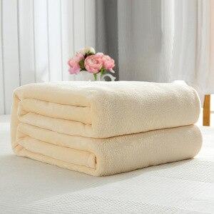 Image 4 - CAMMITEVER colcha Franela suave para sofá, cama, coche y oficina, manta de forro polar