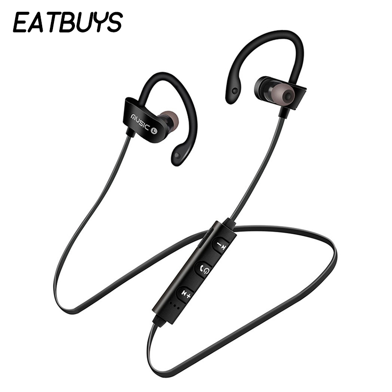 Bluetooth Earphone Sport Wireless Headphones Waterproof Stereo Earbuds with Mic For Iphone Xiaomi Samsung Headset fone de ouvido magnetic attraction bluetooth earphone headset waterproof sports 4.2