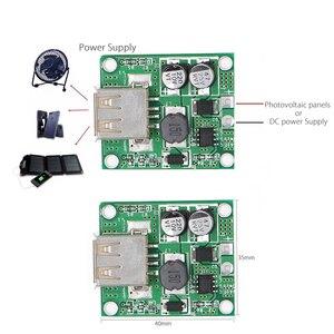 5V 2A Power Bank Solar Panel Voltage Controller Charge USB Regulator 5V-20V Input 5Vdc Output For Cell Phone Work