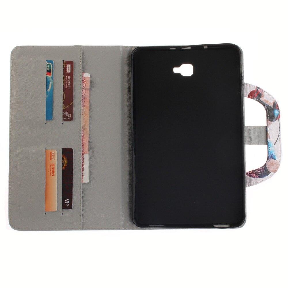 Samsung Galaxy Tab A6 10.1 kaitseümbris SM-T580 SM-T585 kooniline - Tahvelarvutite tarvikud - Foto 6