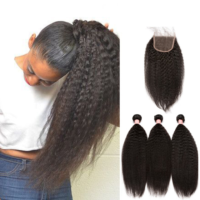Brazilian virgin hair with closure free hair net 3 bundles human brazilian virgin hair with closure free hair net 3 bundles human hair kinky straight brazilian hair pmusecretfo Images