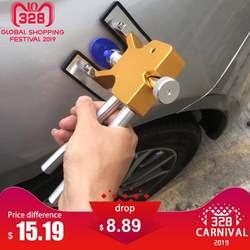 Кузова Paintless Dent Lifter Ремонт Инструмент Съемник + 18 вкладки градом удаления инструмент для bmw e46 e90 ford focus 2 Volkswagen Mazda jetta