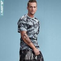 Aimpact 2017 New Collection Custom Fabric Camouflage Men Tshirt Streetwear Camo Tee Hip Hop Fashion Mens