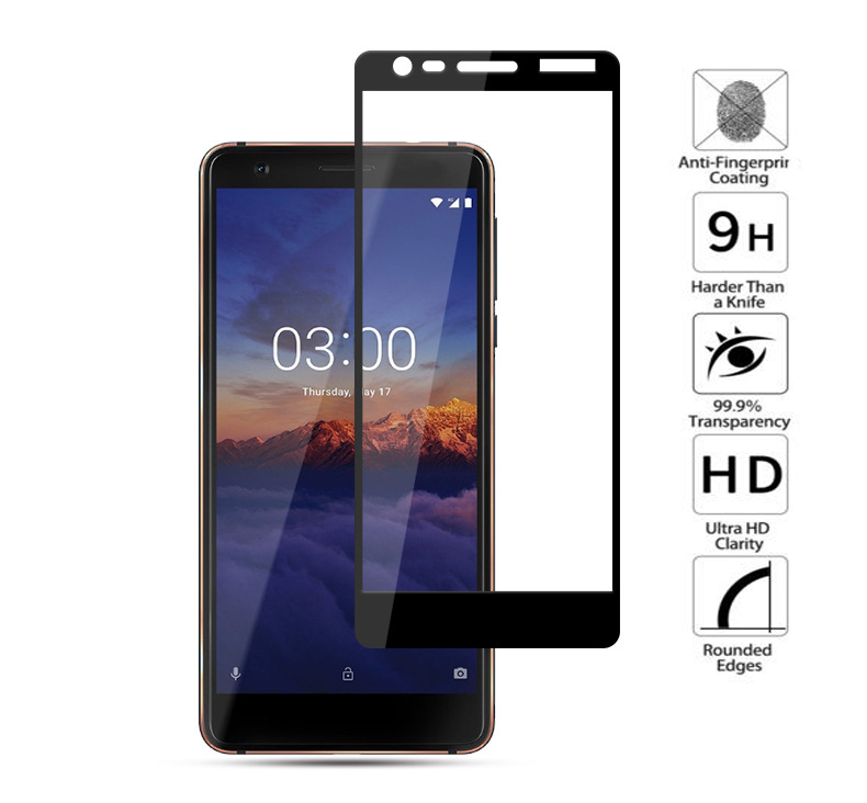 For Nokia 3.1 Tempered Glass Full Cover For Nokia 3.1 Screen Protector Nokia 3.1 2018 TA-1049 TA-1057 TA-1063 TA-1070 TA-1074 For Nokia 3.1 Tempered Glass Full Cover For Nokia 3.1 Screen Protector Nokia 3.1 2018 TA-1049 TA-1057 TA-1063 TA-1070 TA-1074