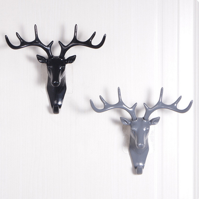 Online Shop Wall Decor Hooks Antlers American Style Household ...