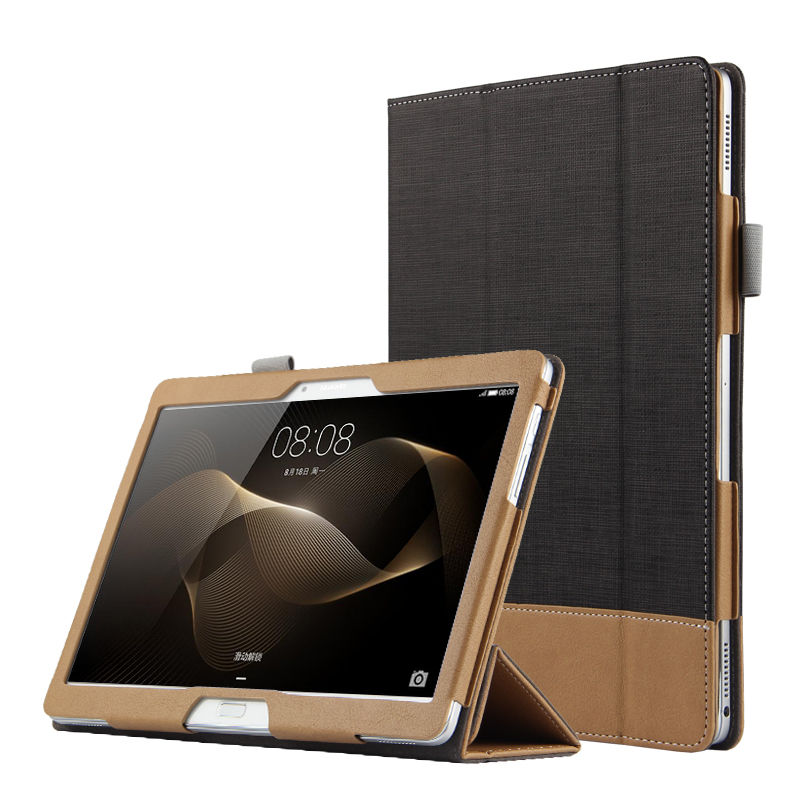 Case For Huawei MediaPad M2 10.0 Smart cover Faux Leather Protective Tablet For HUAWEI MediaPad M2-A01L M2-A01w PU Case Protecto image