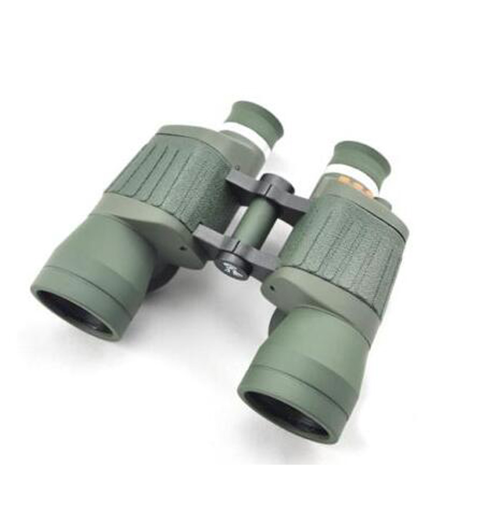 ФОТО Visionking Fixed Focus 10x50 Porro Binoculars With Reticle and Light Outdoor Travelling Hunting Telescope Binoculars Waterproof