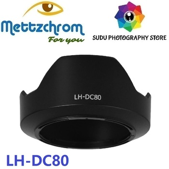 Mettzchrom LH-DC80 Lens Hood Petal Shade for Canon PowerShot G1X Mark II image