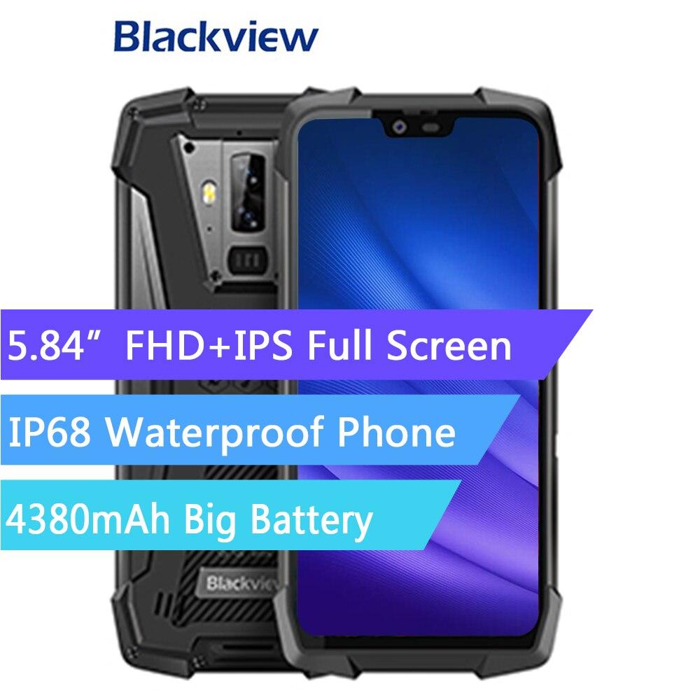 Купить Blackview BV9700 Pro IP68 Водонепроницаемый Открытый Смартфон Helio P70 6 ГБ + 128 ГБ Android 9,0 камера ночного видения прочный мобильный телефон на Алиэкспресс