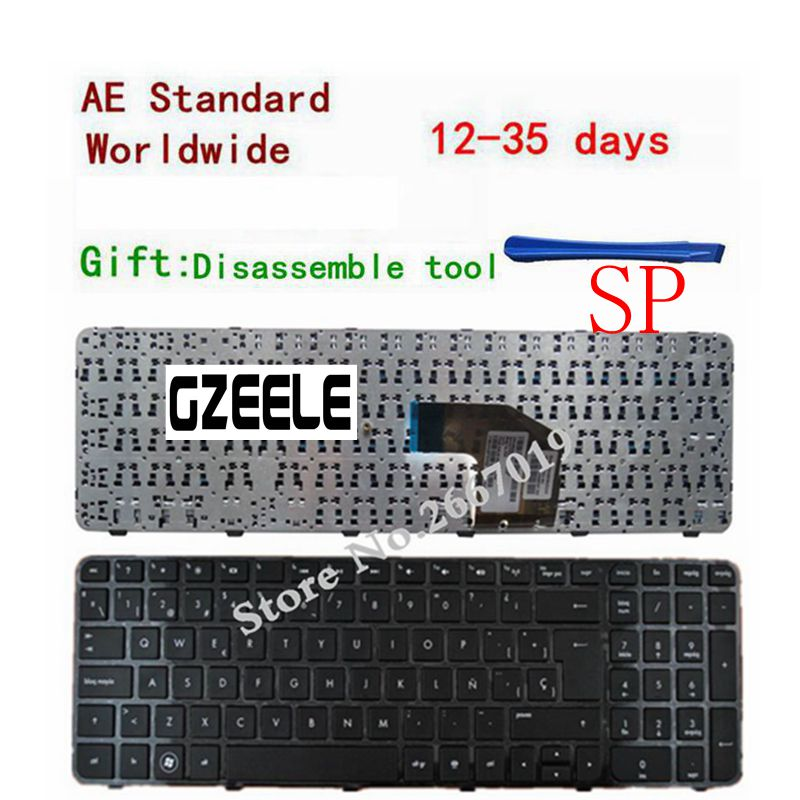 SP Teclado Spanish keyboard For HP Pavilion G6 G6-2000 G6Z-2000 G6-2000 g6-2100 G6-2163sr G6Z-2000 AER36Q02310 R36 цена