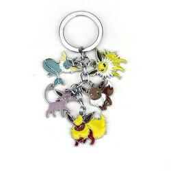 Super! Porte-clés à pendentif féerique Monster Vaporeon Eevee, Flareon scholteon, cinq fées, cadeau mignon, livraison gratuite