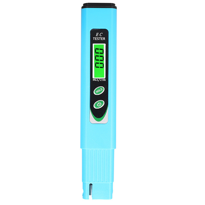 100pcs/lot by dhl fedex Digital Water Electrical TDS EC Meter tester Conductivity Aquarium 19.99 ms/cm with hold switch