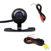 170 Wide Angle HD Night Vision Car Rear View Camera Reverse Backup Color Parking Camera Parking