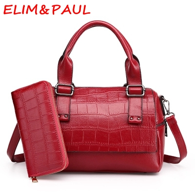 b566913be7 ELIM PAUL Women Bag Luxury Handbags Women Bags Designer Pillow Casual Tote  Ladies Hand bags High Quality Pu Leather Bags Women