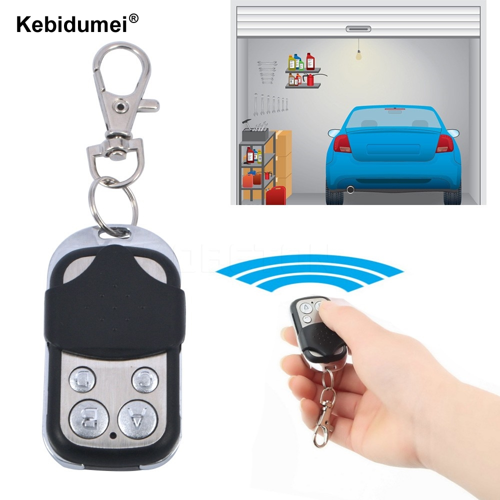 Kebidu Universal Wireless 433mhz Remote Control Copy Code