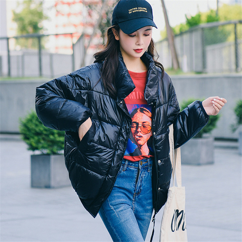 Women   Parkas   Cotton Padded Jacket New Fashion Women's Windproof Cotton Jacket Warm Outerwear   Parka   2018 Winter