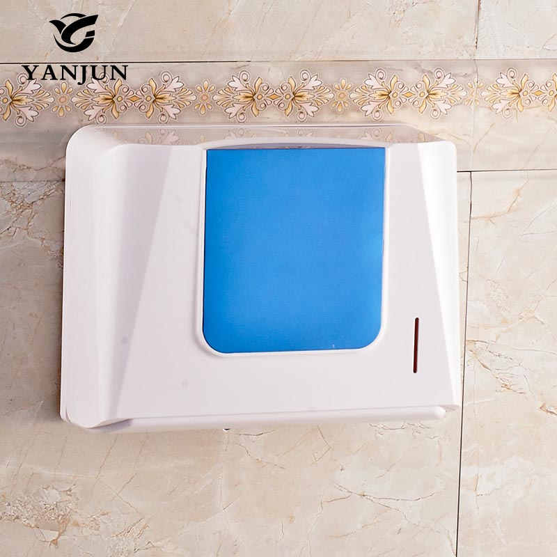 Yanjun Wall Mounted Anti Drop Toilet Paper Holder Wc Paper Towel Holder Tissue Dispenser