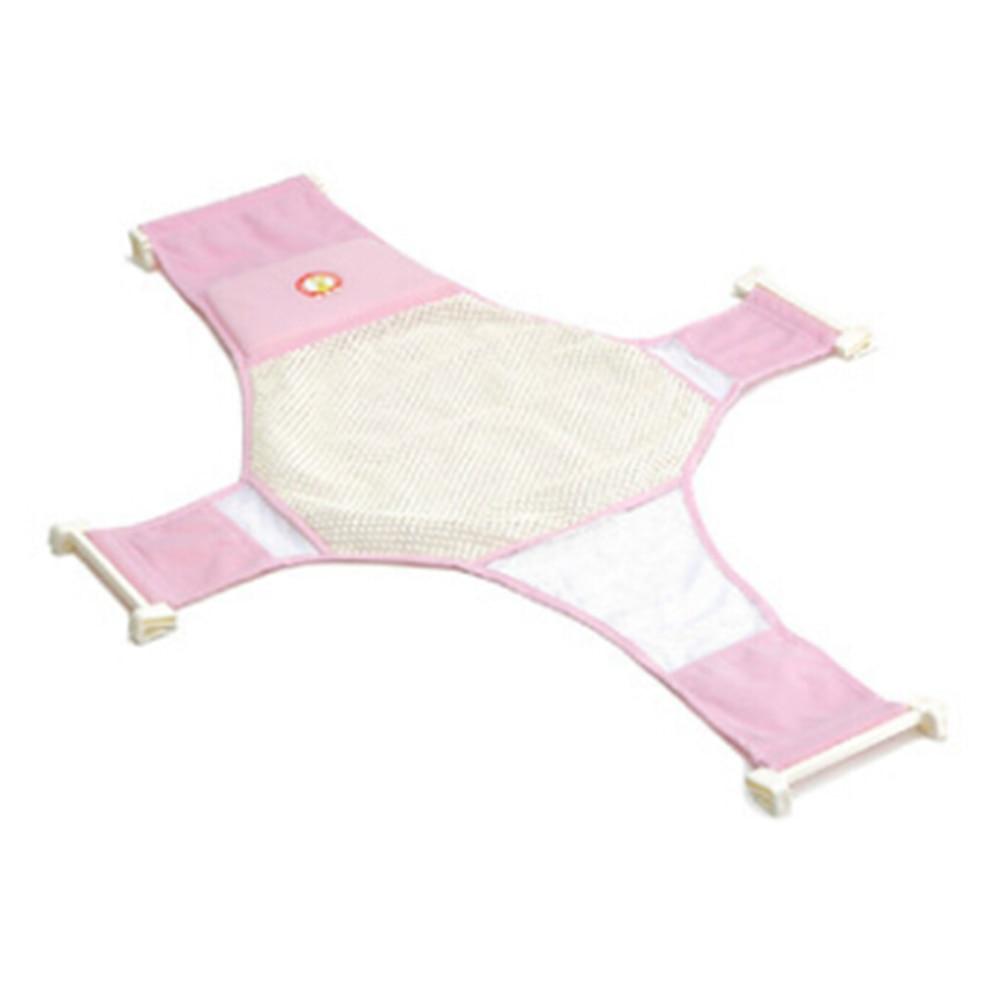 1 Stück Babywanne Bett Weiche Rutschfeste Bad Net Maschenschlinge Rack Dusche Platte Kindersitz Bad Massage T-form Netzartige Bed Großhandel Angenehm Im Nachgeschmack