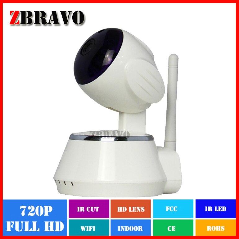 ФОТО 1MP Wifi Mini Household IP Camera 1.0Mega 720P 2 Way Audio Motion Detection P2P Onvif IP cam Support TF 64G