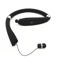Suicen SX 991 Sports Bluetooth Headphones Retractable Foldable Neckband Wireless Headset Anti lost In Ear Earphones Auriculars
