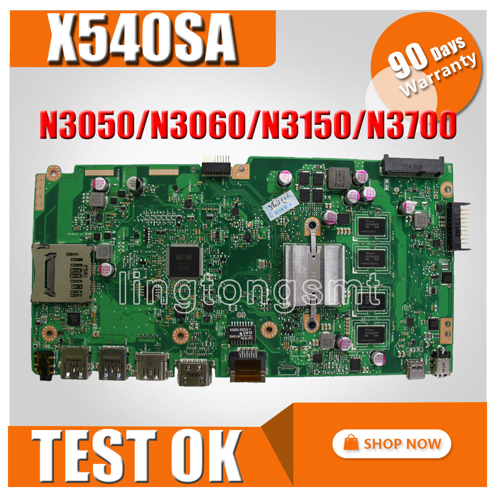 X540SA Motherboard With DDR3 2GB RAM REV 2 0 For ASUS VivoBook X540SA F540S X540S Laptop
