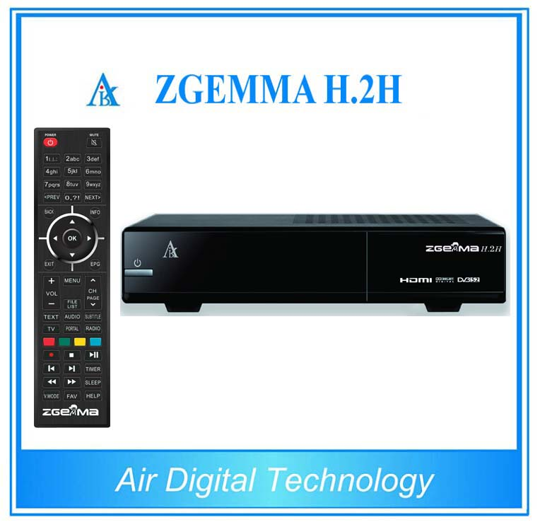 5 pcs/lot  ZGEMMA H.2H DVB S2 + DVB T2 Combo satellite + terrestrial&cable tv receiver with IPTV 3pcs linux zgemma star h2 iptv satellite receiver combo tuner with dvb s2 and dvb t2