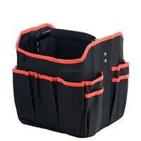 Foldable 도구 가방 방수 도구 가방 대용량 핸드백 도구 주최자 스토리지 가방 전기 수리 상자 악기 케이스