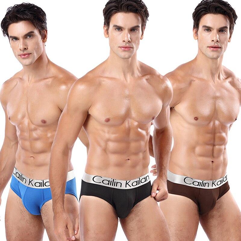 Sexy Men Briefs Underwear Men's Breathable Brief Underpants Modal Comfortable Mens Soft Briefs Solid Shorts Cueca Male Panties