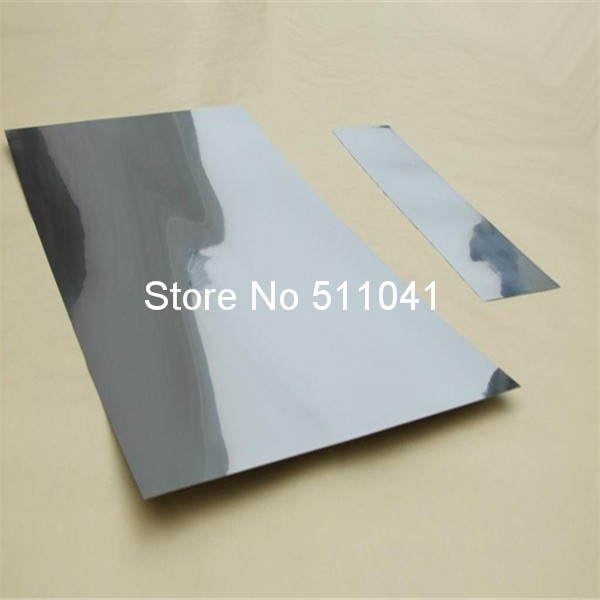 1 PC Molybdenum Metal Sheet  99.9% Molybdenum plate 1*200*200 ss 16 sheet metal shrinker stretcher metal plate shrinking machinery tools