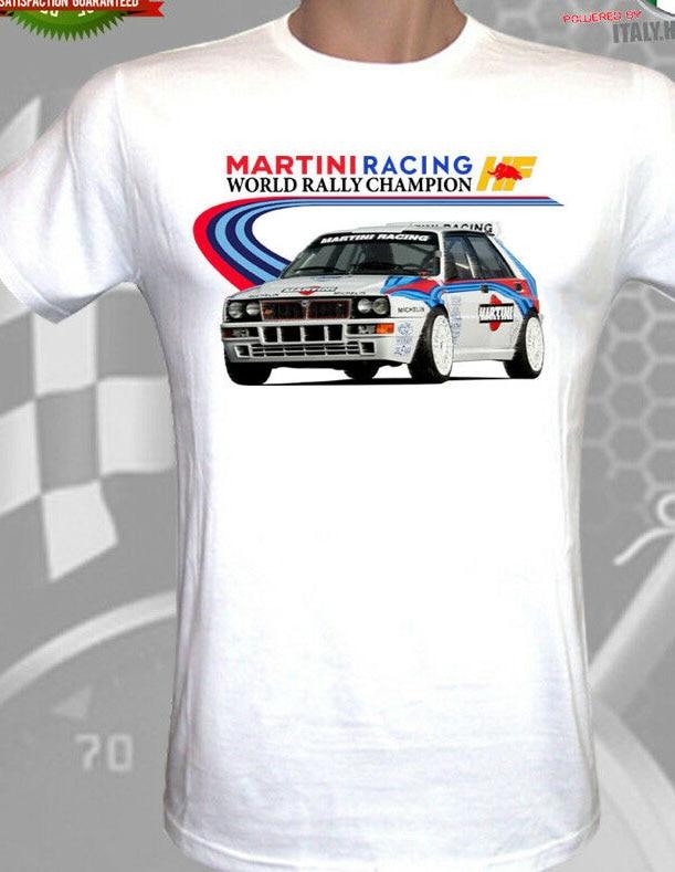T-Shirt Lancia Delta S4 HF Martini Racing Monte Carlo Winner Old WRC H Quality