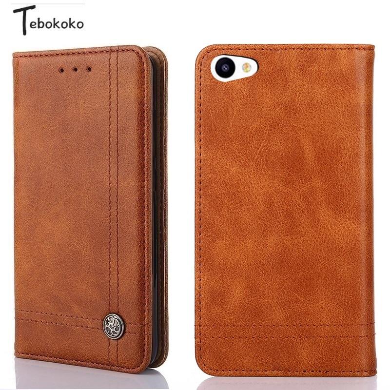 Case for Meizu U20 U10 Cover Phone Bag Book Style Retro Leather Wallet Flip Cover for Meizu U20 5.5'' U10 5.0'' Case