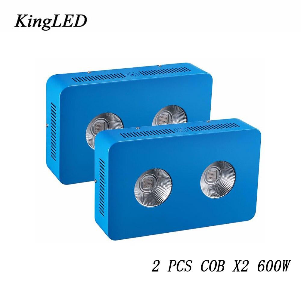 2 шт. kingled 600 Вт вел светать полный спектр 410-730nm для комнатных растений и цветок фраза очень высокий выход