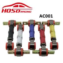 FOR HONDA CIVIC EF EG EK 88-00 HOSO RACING ADJUSTABLE SUSPENSION REAR UPPER CAMBER ARMS KIT
