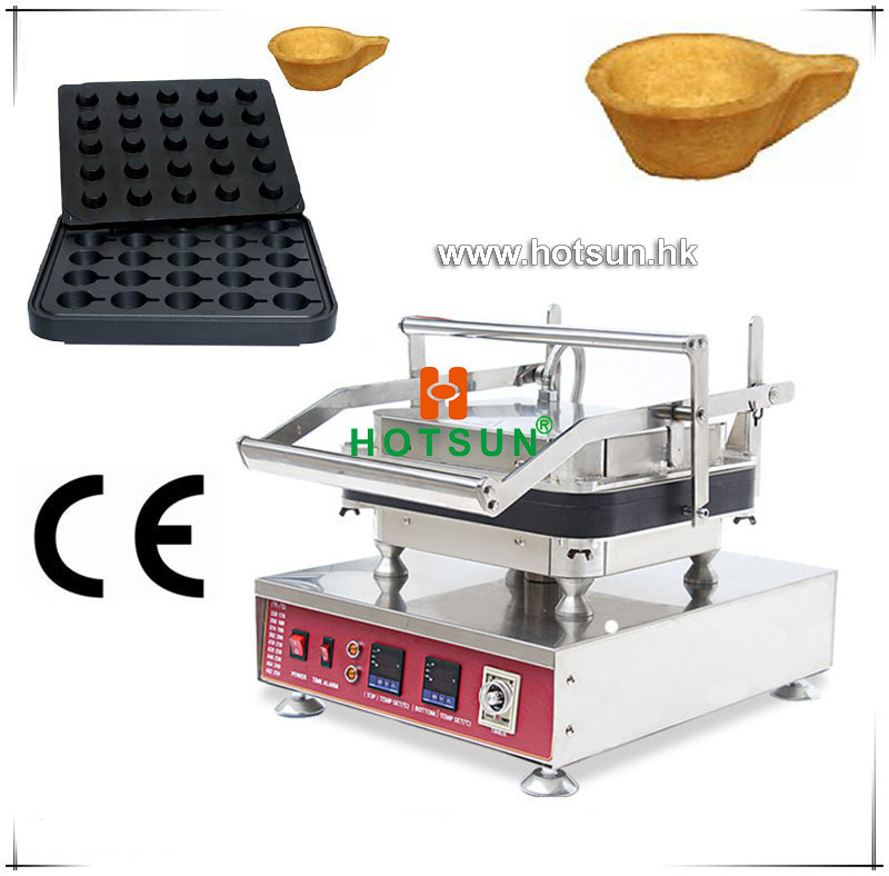 Free Shipping Heavy Duty Non-stick 110V 220V Electric 25pcs Spoon Water Buckets Waffle Maker Machine with Removable Plate free shipping professional non stick 110v 220v electric 12pcs round circle waffle cake maker machine with removable plate