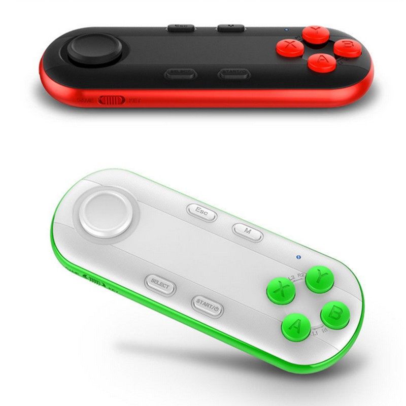 2017 Bluetooth Wireless Gamepad Android Game Pad Remote Controller Joystick For PC Smart Phone Ebook TV VR Box image