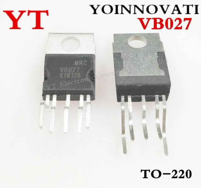 10pcs VB027 TO220 IC COIL DRIVER PAR 5PENTAWATTHV