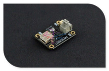 DFRobot DC-DC Boost Module 5V, PFM control chip PH2.0 + KF235-3.81-2P input ports form 0.9~5v to 5V for Arduino and other