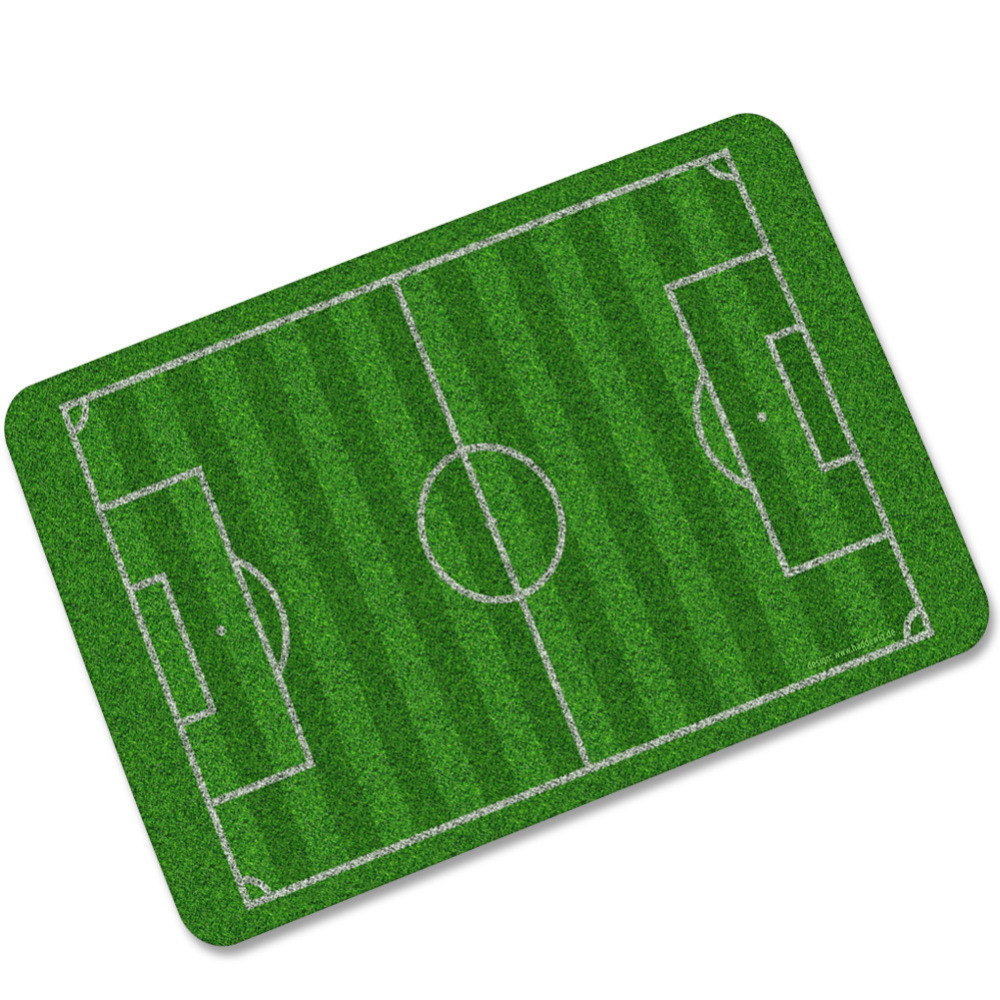 Great Rugs Football Lawn Carpet Mats Bedroom Non Slip Floor 40*60Cm Mats Area Rug