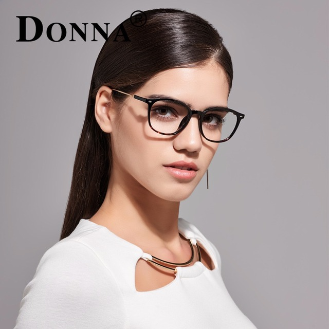 Donna Rivet Ultra Light Eyeglasses Optical Men Clear Circle Anti Radiation Glasses Computer Gold Glasses Frames Women Oculos