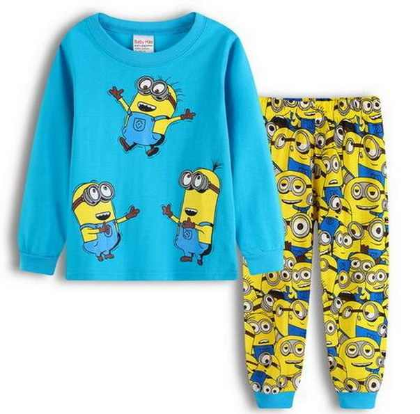 35f1caa8e9 ... Hot sale Pijamas Kids Pajamas Cotton Baby Boy Pyjamas Set Home Bebe  Long Sleeve sleeping suits ...